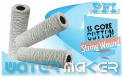 Cotton Bleach Natural Cotton String Wound Cartridge Filter Indonesia  large