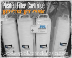 High Flow Radial Pleat Filter Cartridge Indonesia  large