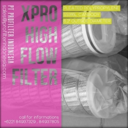XPRO High Flow Cartridge Filter Indonesia  large