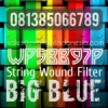 d Pentek Big Blue String Wound Filter Cartridge Indonesia  medium