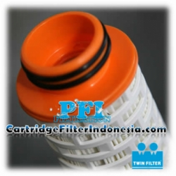d TH25 40 20F Absolute Rated Pleated Twin Filter Cartridge Indonesia  large