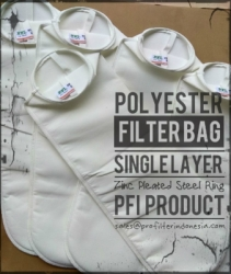 d d d Polyester Steel Ring Bag Filter Cartridge Indonesia  large